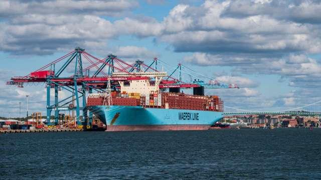 跟隨股神?航運巨頭馬士基投資綠色燃料新創公司 (圖片:AFP)