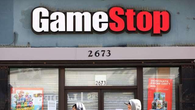 〈財報〉GameStop Q2虧損縮減 但法說交代不清 盤後挫近9% (圖片:AFP)
