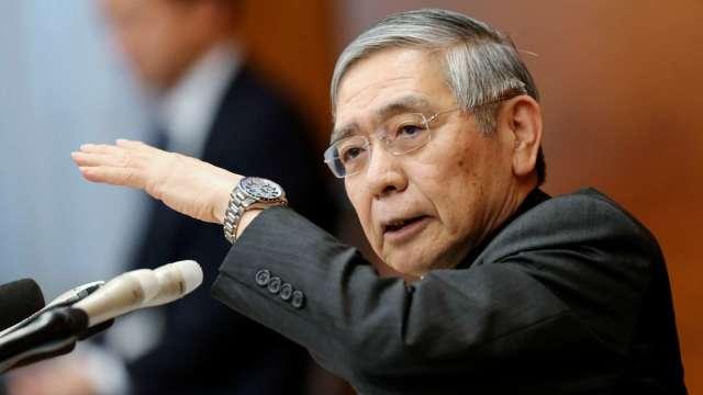 黑田東彥:疫情過後仍會保持貨幣寬鬆 (圖片:AFP)
