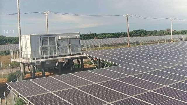 中保科在全台協助太陽能廠建置大型場域安全監控系統。(圖:中保科提供)