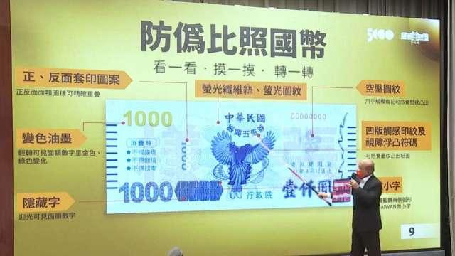 政院通過追加特別預算1600億元 發五倍券需1206.9億元。(圖:取自行政院直播)