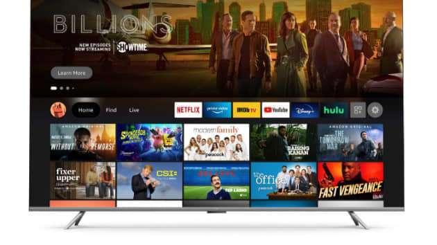 亞馬遜進階版 Fire TV Omni 電視。(圖片:Amazon)