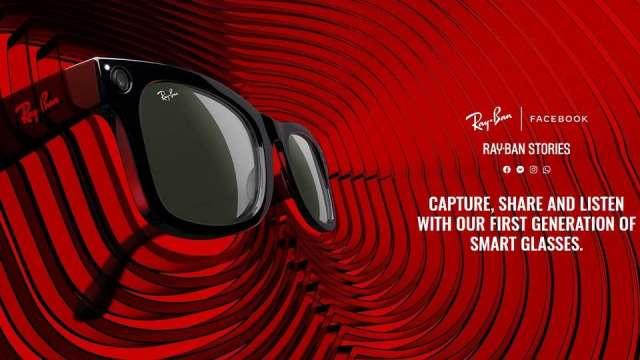 臉書首款智慧眼鏡亮相 3C功能一應俱全(圖:雷朋官網)