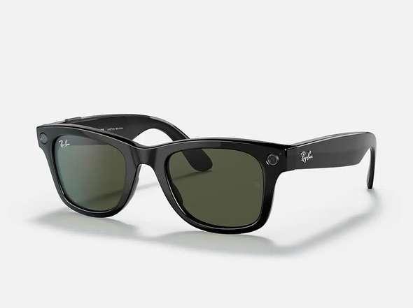 臉書首款智慧型眼鏡 Ray-Ban Stories。(圖:雷朋官網)