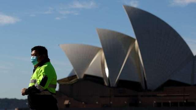 Delta病毒肆虐 澳洲新南威爾斯州單日新增確診創高 (圖片:AFP)