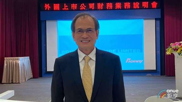 茂林-KY董事長李滿祥。(鉅亨網記者劉韋廷攝)