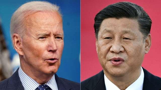彭博:拜習熱線後 白宮正評估對中國啟動新的貿易調查 (圖:AFP)