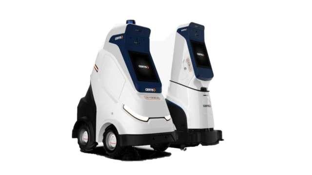 百達重點發展方向為服務型機器人。(圖:百達提供)