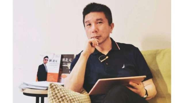現任北宇管理顧問總經理、中華民國保險經紀人公會理事之台灣《保險法》權威劉北元。(圖:北宇管顧提供)