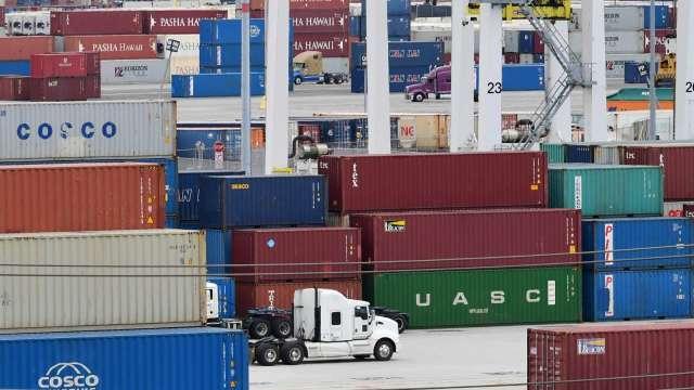 中美歐開會商討、達飛突然凍漲 飆升的運價會降溫嗎?(圖:AFP)
