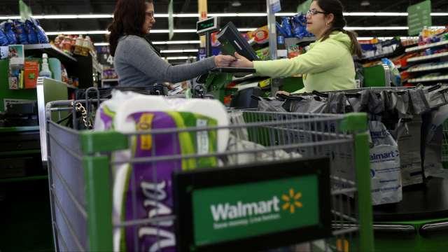 萊特幣回吐逾30%漲幅!沃爾瑪否認接受萊特幣付款(圖片:AFP)