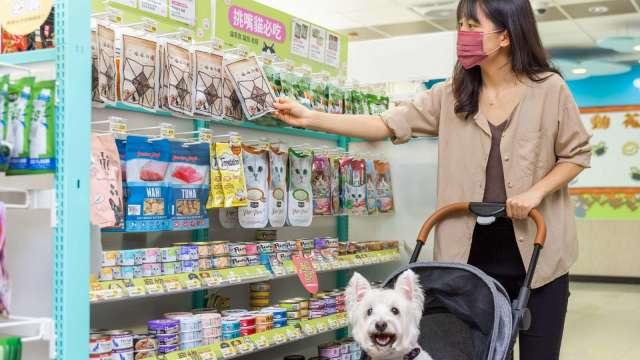 7-ELEVEN力拚打造業界最大寵物專門店。(圖:統一超提供)
