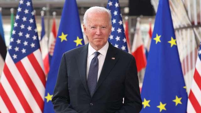 彭博:歐盟尋求聯美抗中 本月商討外資審查合作框架 (圖:AFP)