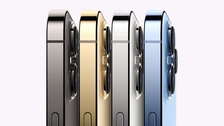 iPhone 13 Pro/ Pro Max 有四色可供選擇 (圖片:蘋果)