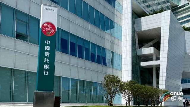外媒一致肯定 中國信託銀行榮獲「臺灣最佳銀行」。(鉅亨網資料照)