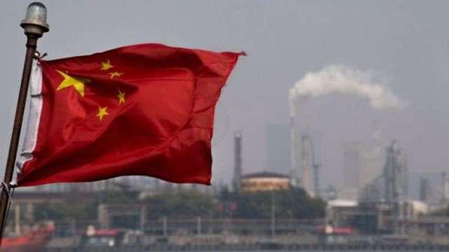 8月中國工業增加值年增跌至5.3% 不如預期(圖片:AFP)