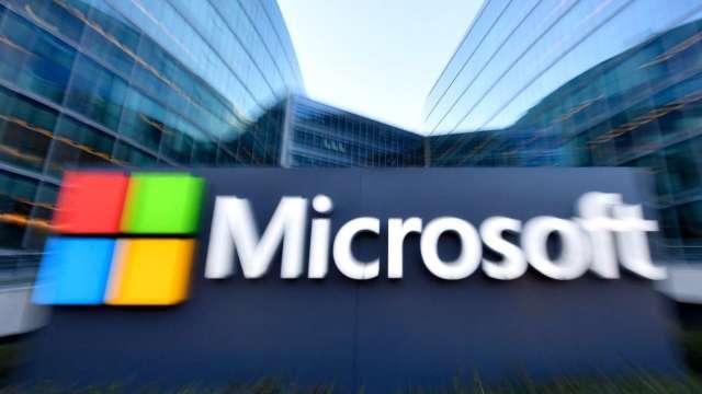 微軟宣布600億美元庫藏股計畫 股利調高11% (圖片:AFP)