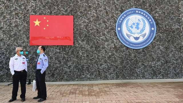 中國雙控政策衝擊水泥產銷,水泥雙雄旺季添變數。(示意圖,圖:AFP)