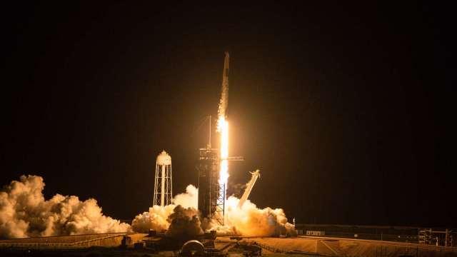 平民成功上太空!SpaceX「靈感4號」任務為航太史寫下新篇章(圖:AFP)