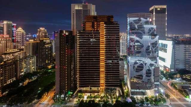 大陸建設台中七期頂級住宅「丽格」,獲今年The International Architecture Awards建築獎。(圖:大陸建設提供)
