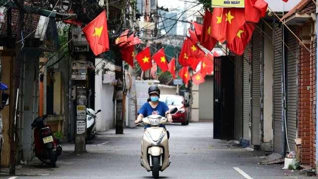 越南針對大胡志明市周遭地區實施漸進式解封。(圖:AFP)