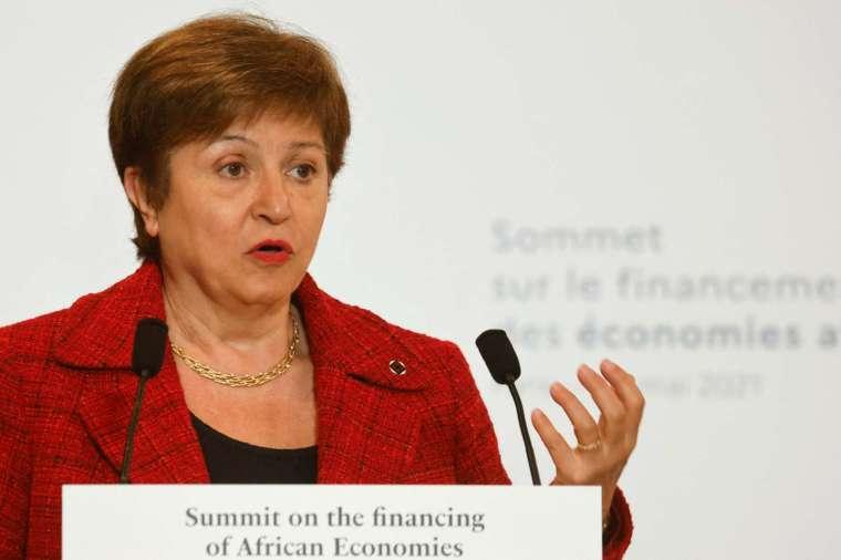 喬治艾娃 (Kristalina Georgieva) 否認週四世銀的內部調查結果。(圖片:AFP)