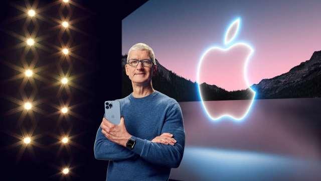 蘋果新品發表會遺珠 庫克沒有忘記(圖片:AFP)