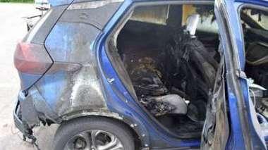 雪佛蘭Bolt發生多起火燒車事件 (圖片:AFP)