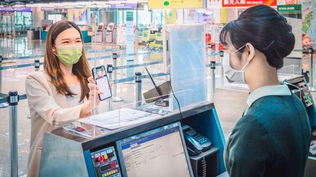 長榮航獲評為2021全球最佳國際線航空公司第三名。(圖:長榮航提供)