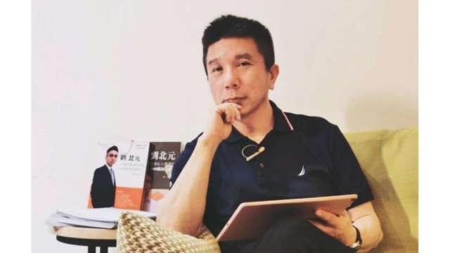 台灣《保險法》權威、北宇管顧總經理劉北元。(圖:北宇管顧提供)
