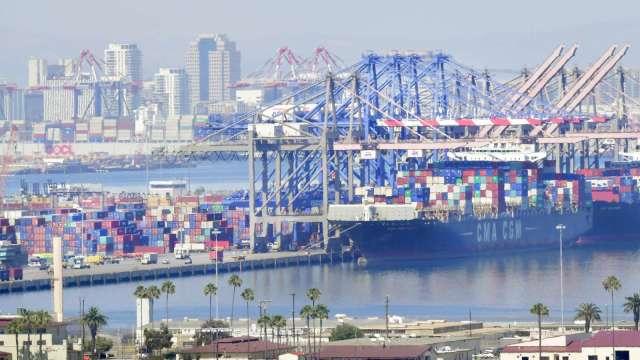 紓解塞港壓力!美最大貨櫃港延長夜間、週末營業時間