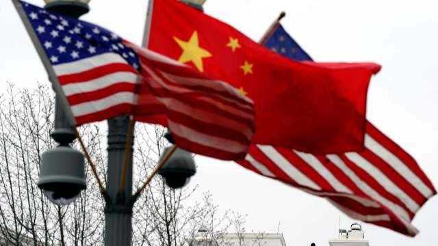 美中緊張局勢 雙邊科技投資規模大減96% (圖片:AFP)