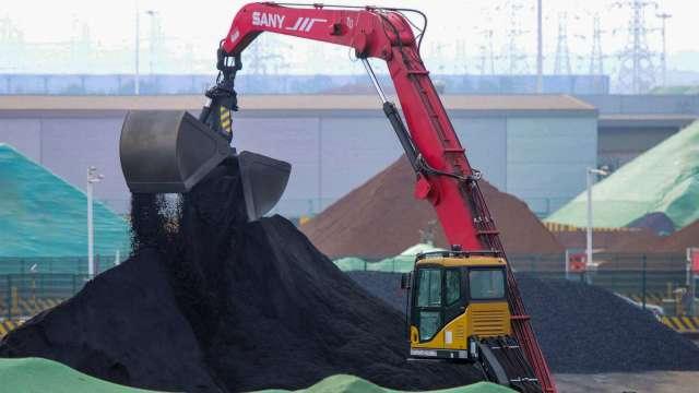 中國恒大集團釀破產危機 從鐵礦砂到銅都下跌 (圖片:AFP)