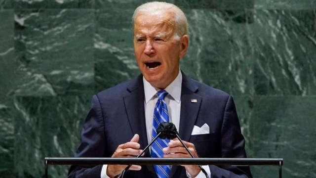 拜登聯合國演說:不尋求新冷戰 (圖片:AFP)