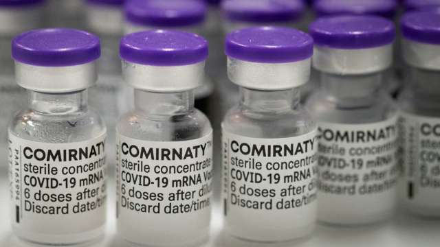 路透:美國將追加捐贈全球各國5億劑輝瑞BNT疫苗 (圖片:AFP)