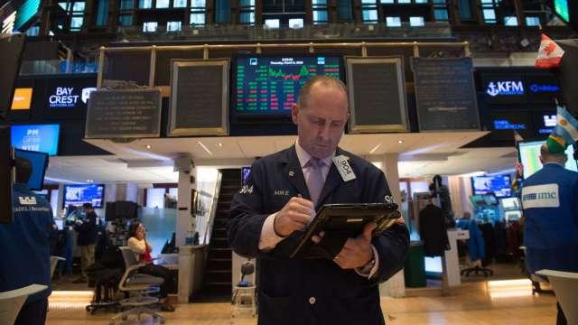 〈美股早盤〉Fed發布政策決議前夕 道瓊開高漲逾200點 (圖:AFP)