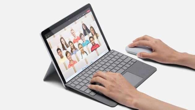 微軟Surface Pro系列迷你版平板電腦Surface Go 3(圖片來源:Microsoft)