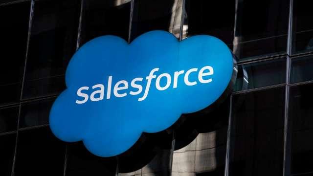 Salesforce上修全年財測 早盤股價漲逾5%(圖片:AFP)