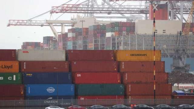 美銀:美國塞港難解 供應鏈瓶頸Q4到明年Q1再惡化 (圖:AFP)