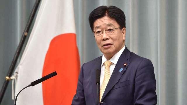 〈台申請CPTPP〉日本官房長官加藤勝信表態歡迎 (圖片:AFP)