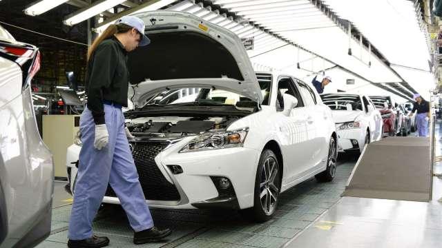 日本9月製造業PMI微幅下滑 產出及新訂單呈現萎縮 (圖片:AFP)