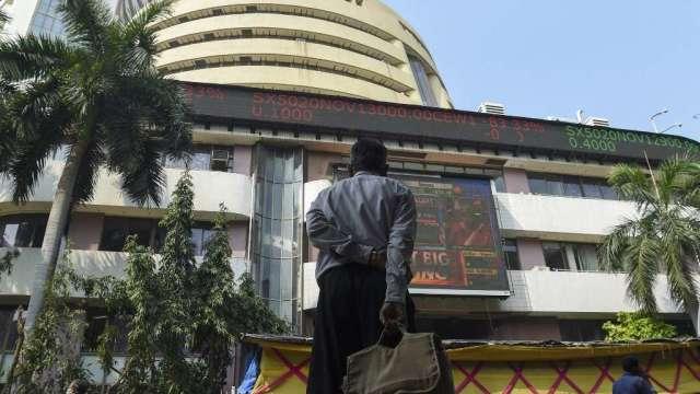 印度股市盤中創歷史新高 Sensex指數首度破6萬點(圖:AFP)