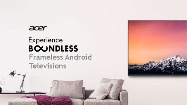 宏碁智慧電視上架亞馬遜,進軍印度主流市場。(擷取自亞馬遜網站)