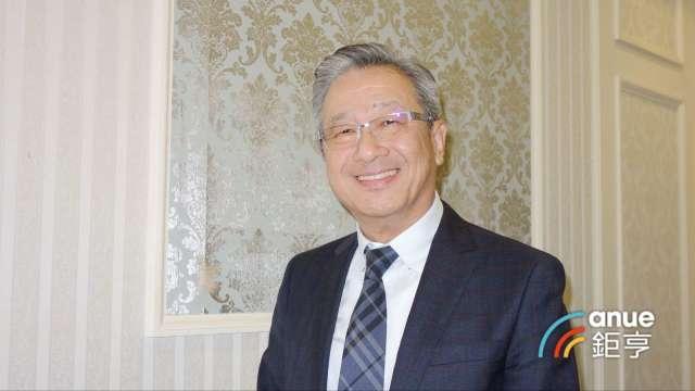 廣運董事長謝清福。(鉅亨網記者張欽發攝)
