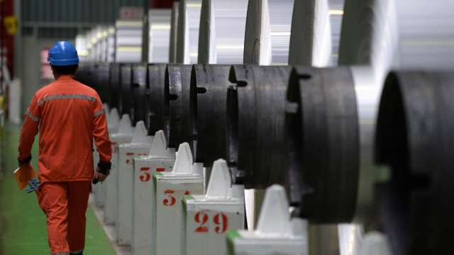 〈觀察〉鐵礦砂、冶金媒炭此消彼漲 煉鋼成本仍有撐。(圖:AFP)