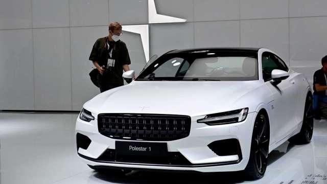 彭博:電動車廠Polestar同意透過SPAC借殼上市 (圖片:AFP)