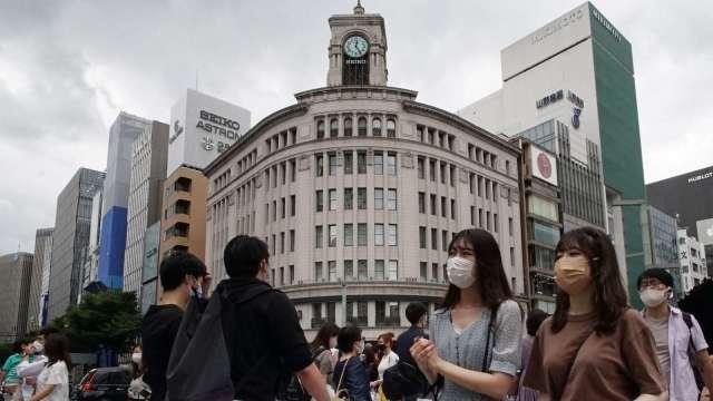 東京疫情持續趨緩 睽違半年後單日新增確診再度低於200人 (圖片:AFP)