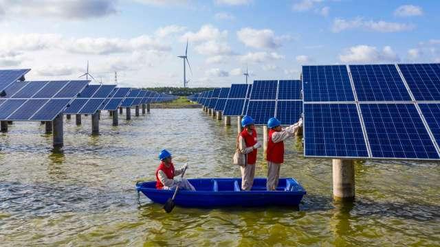 中國砲轟!WTO駁回中控美太陽能板關稅保護 (圖片:AFP)