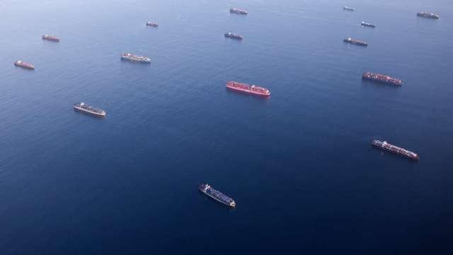 全球航運和供應鏈危機,百億貨物海上漂 (圖片:AFP)