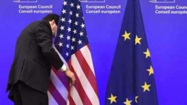 美歐貿易與科技會議將登場 制衡中國影響力(圖片:AFP)